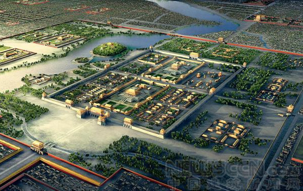 今天的北京哪些部分继承了元大都的城市规划